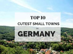 Germany's best less-travelled towns are seriously underestimated!