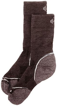 Camping Hiking : Men's Clothing :Smartwool Men's PhD Outdoor Light Crew Socks -- See this great image  : Camping Hiking: Men's Clothing