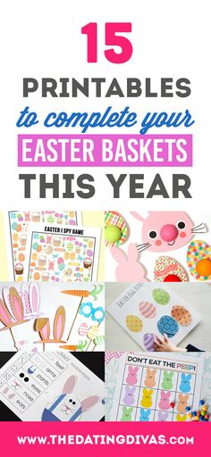 100 candy free easter basket ideas basket ideas easter baskets 100 candy free easter basket ideas negle Image collections