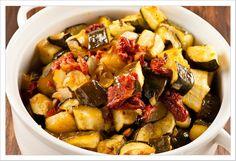 i♥Tasty | ..Oven-Braised #Zucchini in #Olive Oil (recipe)