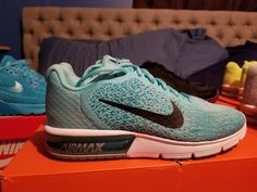 new product 32402 2bb31 Nike Air Max Sequent 2 - Turquoise Print