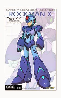 "Rockman Corner: Capcom Teases Rockman X ""Ver.Ke"" Model Kit (Updated)"