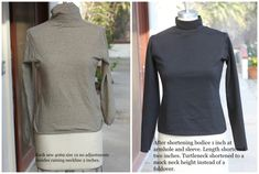 Correct a long droopy armhole-kwik sew 4069