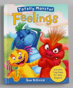 Look what I found on #zulily! Totally Monster: Feelings Board Book by Silver Dolphin Books #zulilyfinds