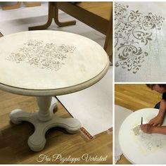 Royal Design Studio #royaldesignstudio - Florence Tile Wall Furniture Stencil