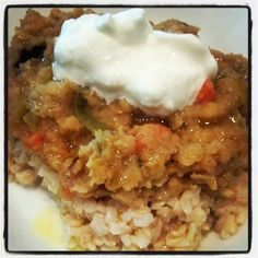 ~Val'sFoodandOrArt~: Red Lentils and Rice ~ Twisting up Traditional Red Beans and Rice~