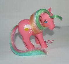 ~*GERMAN Raindrop*~ Vintage G1 Rainbow My Little Pony Large Symbol Variant