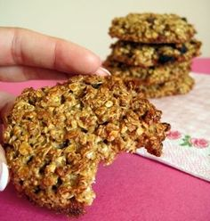 Cooking for Little Ones Healthy Cookies, Healthy Sweets, Healthy Snacks, Healthy Recipes, Cooking Time, Cooking Recipes, Cookies Light, Oatmeal Cookie Recipes, Oatmeal Cookies