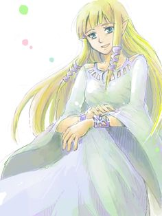 Zelda (Goddess Hylia's reincarnation) - The Legend of Zelda: Skyward Sword