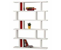 Книжный шкаф Tote - ДСП, 168x140x29 см