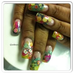Nails fruit by Sokny nails