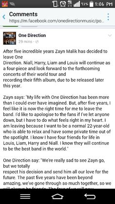 Zayn really left the band