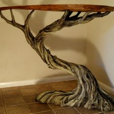Tree Table Art / Ideas️ :More At FOSTERGINGER At Pinterest