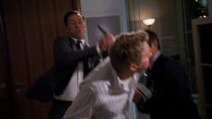 "Burn Notice 5x01 ""Company Man"" - Michael Westen (Jeffrey Donovan), Max (Grant Show) & Hector Oaks (J.C. MacKenzie)"
