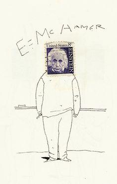 Bill Mayer - Postal Stamps & Ink Sketches