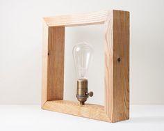Caja Edison castaño natural por LuzDelBosque en Etsy