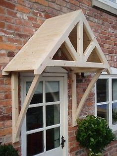 """Timber Front Door Canopy Porch, """"THE WHITEMERE"""""""