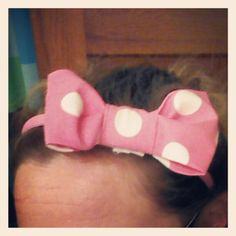 Bow Belt, Diy Bow, Head Bands, Hairbows, Sewing For Kids, Vienna, First Birthdays, Minnie Mouse, Crafty