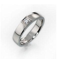 Simple diamond engagement ring simple diamond by KorusDesign