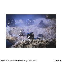 Black Dice on Ghost Mountain Canvas Print