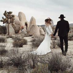 Desert lovers   @logancolephoto via @branchandcole