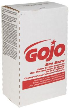 GOJO 2252-04 NXT Spa Bath Body and Hair Shampoo, 2000 mL (Case of 4)  The GOJO 2252-04 Spa Bath Body & Hair Shampoo is a four-pack of 2000-mL bottles of enriched, spa-quality shampoo to clean hands, hair and body. The pleasant herbal fragrance, translucent color, and sanitary-sealed package help ensure a pleasant and healthy shampoo experience.    Since 1946, GOJO has made products which include a wide variety of soaps, cleansers, and accessories, such as green-certified foam hand cl..