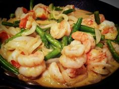 Green Curry Coconut Shrimp | City Paleo #whole30 #cooking #recipe