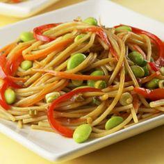 Edamame Lo Mein Recipe at Cooking.com