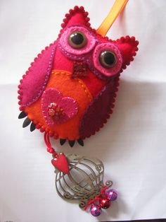 homemade@myplace  owl decoration