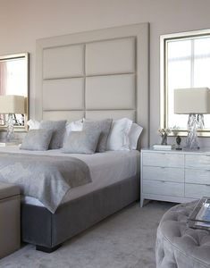The impact of bedroom furniture will make you have a good night's sleep. Let's face it, and a modern bedroom furniture design can easily make it happen. Modern Rustic Bedrooms, Modern Bedroom Furniture Sets, Furniture Vintage, Home Bedroom, Bedroom Decor, Bedroom Ideas, Luxurious Bedrooms, Beautiful Bedrooms, Decoration