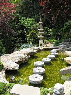 Japanese-style Garden, Hillwood Museum and Gardens, Washington, DC