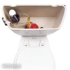 How to Fix a Running Toilet #DIY #repair