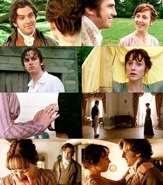"""My heart is, and always will be, yours."" ""Everyday since I first saw you, my love for you has grown. I know I have no right to hope but I must ask, can you forgive me? Can you love me? Will you marry me?"" Sense And Sensibility"