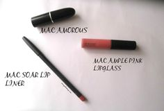 MAC Soar Lip Pencil- Review, Swatch and LOTD