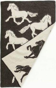 Icelandic wool blanket #Icelandic #Horse