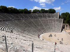 Epidaurus Theater; Epidavros, Greece