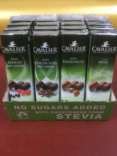 Σοκολάτα με Stevia  Για όλους σοκολάτα, χωρίς ενοχές.