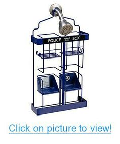 Doctor Who TARDIS Shower Rack Home #Office #Bath