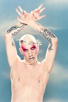 Photographer: David LaChapelle | Model: Marilyn Manson | Title: Scars