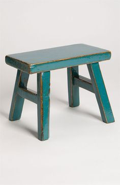 Royola Pacific Designs Small Decorative Wood Stool   Nordstrom