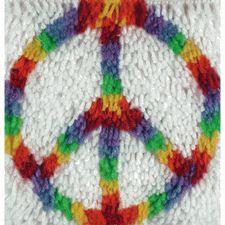Wonderart Peace Sign Hippie Latch Hook Rug Kit Kids Craft Kit 12 x 12 Square Made in the USA Latch Hook Rug Kits, Rug Yarn, Craft Kits For Kids, Craft Ideas, Fun Ideas, Acrylic Fiber, Before Us, Rug Hooking, Crochet Hooks