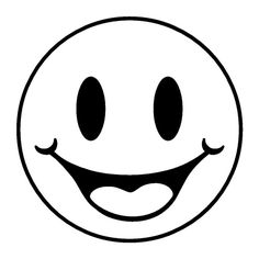 happy face coloring page # 81