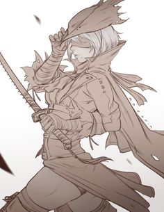 Safebooru is a anime and manga picture search engine, images are being updated hourly. Bloodborne Characters, Bloodborne Art, Fantasy Characters, Bloodborne Outfits, Fantasy Character Design, Character Concept, Character Art, Dark Fantasy, Fantasy Art