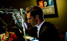 NPR studio with Ari Shapiro | Photo: Stephen Voss