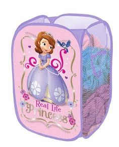 NEW! Disney Sofia the First Pop Up Hamper bedroom playroom Toy - Free 2 Day Ship