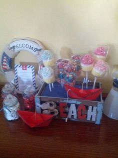 Nautical theme party decorations