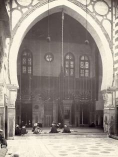 Cairo Mosque (Egypt) Fotoprint bij AllPosters.nl