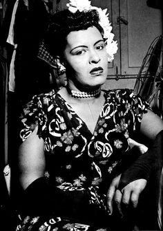 "hennyproud: "" Billie Holiday in her dressing at the Down Beat Club, c. 1946 """
