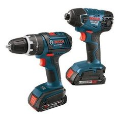 Bosch CLPK232 181 18 Volt Lithium Ion 2 Tool Combo Kit (Drill/Driver and Impact Driver) - Sale Price: $279.99: Bosch's CLPK232-181 18-volt max 2-tool combo kit is constructed to withstand the most demanding jobsite conditions. This combo kit is extremely compact and lightweight with professional grade performance tools.