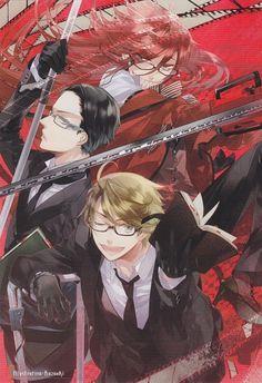 Tags: Anime, Kuroshitsuji, Scan, Grell Sutcliff, Kazuaki